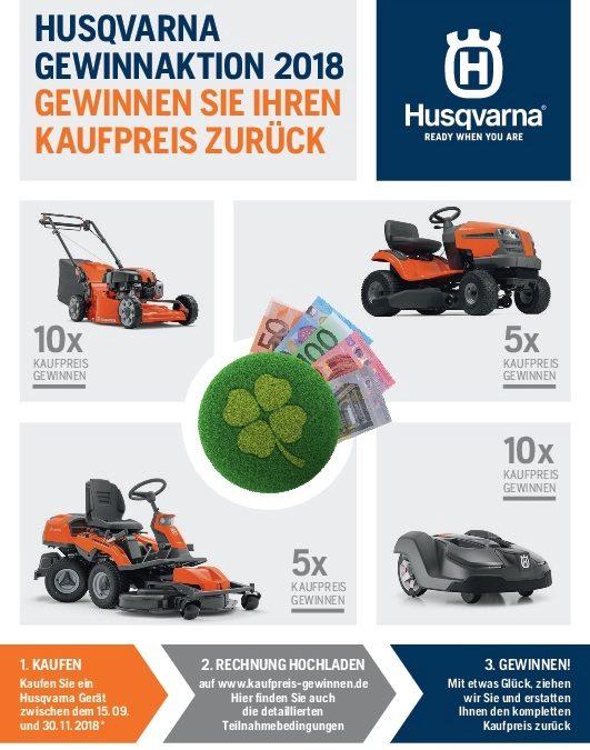Husqvarna Gewinnaktion 2018