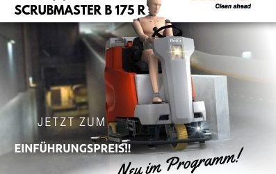 Neu: Hako Scrubmaster B 175 R