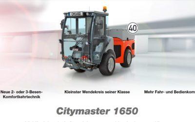 Neu – Hako Citymaster 1650