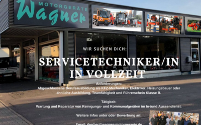 Servicetechniker/-in gesucht!!