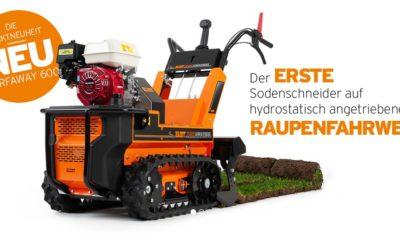 Neu im Programm – Eliet Turf Away 600 Sodenschneider