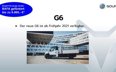 Goupil Elektrofahrzeug G6 ab Frühjahr 2021 verfügbar