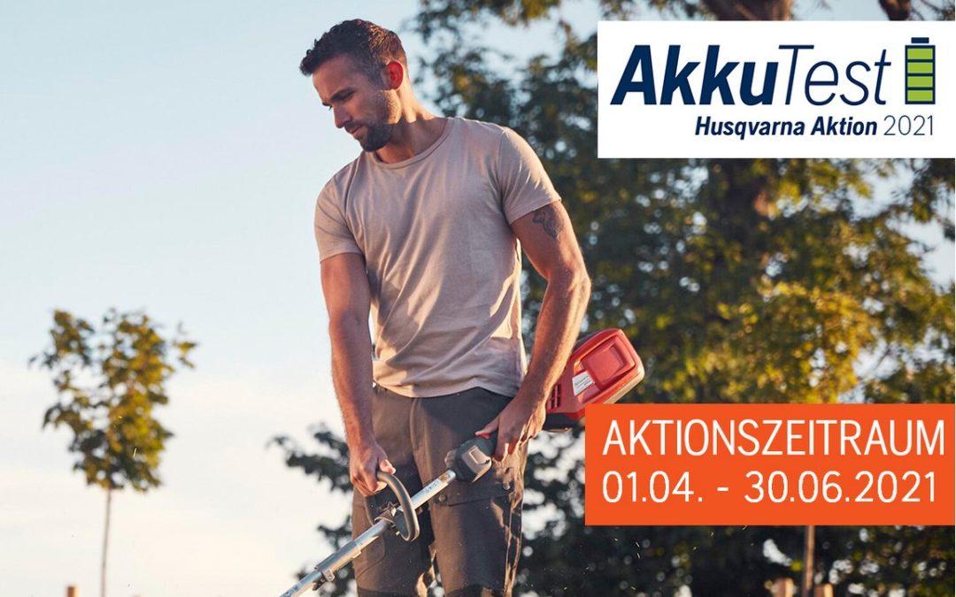 Husqvarna Akkutest